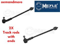 Tie rod with ends kit